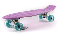 Скейт Penny Board LED Wheels Point Fish Sk-405-6 Pastel Lilac