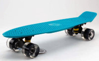 Скейт Penny Board LED Wheels Fish Sk-405-11 аквамарин