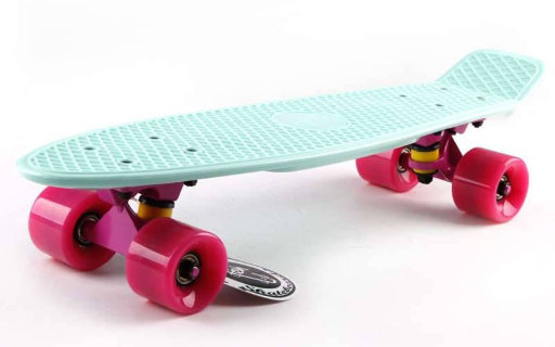 Скейт Penny Board Original Fish SK-401-17 pastel mint