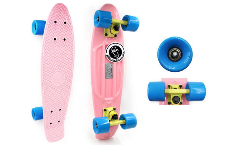 Скейт Penny Board Original Fish SK-401-23 pastel candy
