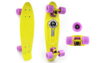 Скейт Penny Board SK-403-4 Color point fish желтый