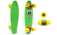 Скейт Penny Board SK-403-10 Color point fish салатовый