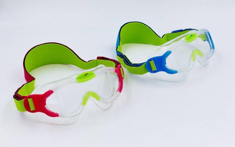 Очки-полумаска для плавания детские SPEEDO SEA SQUAD MASK 8087638028